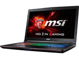 "MSI GE Series GE72 Apache Pro-092 Gaming Laptop Intel Core i7 6700HQ (2.60 GHz) 16 GB Memory 1 TB HDD NVIDIA GeForce GTX 970M 3 GB GDDR5 17.3"" Windows 10 Home"