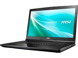 "MSI CX72 6QD-208US Gaming Laptop 6th Generation Intel Core i5 6300HQ (2.30 GHz) 12 GB Memory 1 TB HDD 128 GB SSD NVIDIA GeForce 940MX 17.3"" Windows 10 Home 64-Bit"