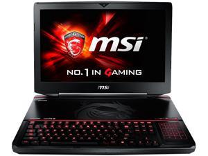 "MSI GT Series GT80S TITAN SLI-274 Gaming Laptop 6th Generation Intel Core i7 6820HK (2.7 GHz) 16 GB Memory 1 TB HDD 128 GB SSD NVIDIA GeForce GTX 980M SLI 16 GB GDDR5 (8 GB each) 18.4"" Windows 10 Home"