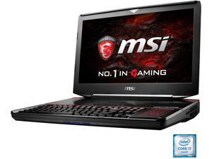 "MSI 18.4""  GT83VR TITAN SLI-024 Intel Core i7 6920HQ (2.90 GHz) NVIDIA GeForce GTX 1080 SLI 64 GB Memory 1 TB SSD (PCIE Gen3x4) 1 TB HDD Windows 10 Home 64-Bit Gaming Laptop VR Ready"