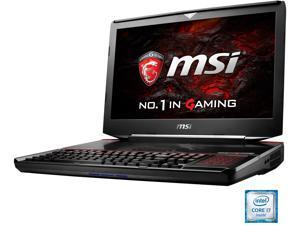 "MSI 18.4"" GT83VR TITAN SLI-023 Intel Core i7 6820HK (2.70 GHz) NVIDIA GeForce GTX 1070 SLI 64 GB Memory 512 GB SSD (PCIE Gen3x4)1 TB HDD Windows 10 Home 64-Bit Gaming Laptop VR Ready"