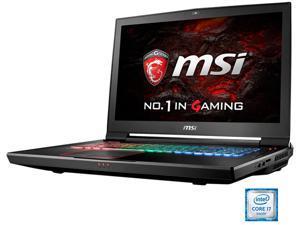 "MSI 17.3"" 4K/UHD GT73VR Titan Pro 4K-200 Intel Core i7 6820HK (2.70 GHz) NVIDIA GeForce GTX 1080 64 GB Memory 1 TB SSD(PCIE Gen3x4) 1 TB HDD Windows 10 Home 64-Bit G-Sync Gaming Laptop VR Ready"