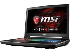 "MSI 17.3"" 4K/UHD GT73VR TITAN SLI-060 Intel Core i7 6820HK (2.70 GHz) NVIDIA GeForce GTX 1070 SLI 64 GB Memory 512 GB SSD (PCIE Gen3x4)1 TB HDD Windows 10 Home 64-Bit G-Sync Gaming Laptop VR Ready"