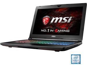 "MSI 15.6"" GT62VR Dominator-012 Intel Core i7 6700HQ (2.60 GHz) NVIDIA GeForce GTX 1060 32 GB Memory 256 GB SSD 1 TB HDD Windows 10 Home 64-Bit G-Sync Gaming Laptop VR Ready"