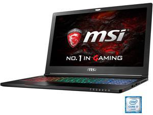 "MSI 15.6"" 4K/UHD GS63VR Stealth Pro 4K-021 Intel Core i7 6700HQ (2.60 GHz) NVIDIA GeForce GTX 1060 16 GB Memory 512 GB SSD 1 TB HDD Windows 10 Home 64-Bit Gaming Laptop VR Ready"