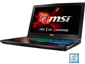 "MSI 17.3"" GE72VR Apache Pro-023 Intel Core i7 6700HQ (2.60 GHz) NVIDIA GeForce GTX 1060 12 GB Memory 256 GB SSD 1 TB HDD Windows 10 Home 64-Bit Gaming Laptop VR Ready"