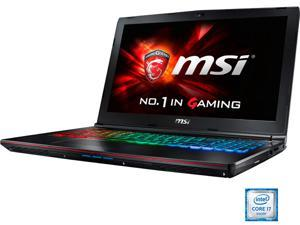 "MSI 15.6"" GE62VR Apache Pro-001 Intel Core i7 6700HQ (2.60 GHz) NVIDIA GeForce GTX 1060 16 GB Memory 256 GB SSD 1 TB HDD ..."