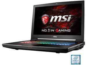 "MSI GT73VR TITAN PRO-003 Gaming Laptop Intel Core i7 6820HK (2.7 GHz) 16 GB Memory 1 TB HDD 128 GB SSD (PCIE Gen3x4) NVIDIA GeForce GTX 1080 8 GB GDDR5X 17.3"" 120Hz 5ms Windows 10 Home 64-Bit VR Ready"