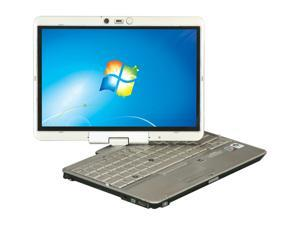 "HP EliteBook 2730P/1.86/2G/120GW7 Intel Core 2 Duo 2 GB Memory 120 GB HDD 12.1"" Tablet PC Windows 7"