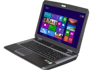 "CyberpowerPC Fangbook Evo HX7-310 Gaming Laptop Intel Core i7-4800MQ 2.7GHz 17.3"" Windows 8 64-Bit"