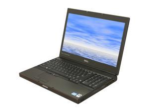 "DELL Laptop Precision M4600 Intel Core i7 2620M (2.70 GHz) 8 GB Memory 500 GB HDD ATI FirePro M5950 15.6"" Windows 7 Professional"