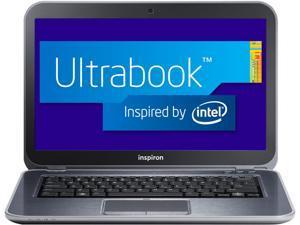 "DELL Inspiron i14z-2100sLV Intel Core i3 6GB DDR3 Memory 500GB HDD 32GB SSD 14"" Ultrabook Windows 8"