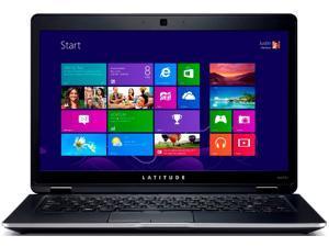 "Dell Latitude Intel Core i3  i3-3217U 1.80 GHz 4GB 128GB SSD 14"" LED Ultrabook Black- Windows 7 Pro (6430U)"