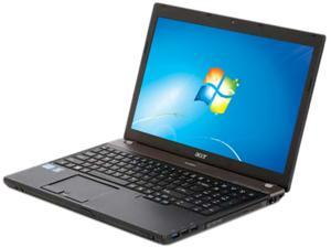 "Acer TravelMate TimelineX TM6595T-6896 Intel Core i5-2540M 2.6GHz 15.6"" Windows 7 Professional 64-Bit Notebook"