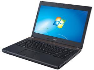 "Acer TravelMate TMP643-V-6424 Intel Core i5-3320M 2.6GHz 14.0"" Windows 7 Professional 64-Bit Notebook"