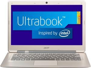 "Acer Aspire S3-391-6423 Intel Core i3 4GB DDR3 Memory 128GB SSD 13.3"" Ultrabook Windows 8 64-Bit"