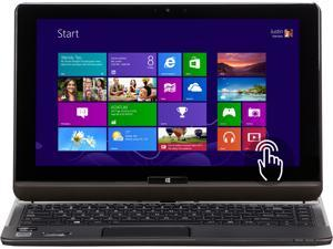 "Toshiba Satellite Intel Core i5 4GB 128GB SSD 12.5"" touchscreen 2-in-1 Ultrabook/Tablet (U925T-S2120) - Brown"