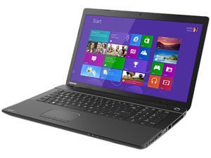 "TOSHIBA Satellite C75-A7390 Intel Core i3-3120M 2.5GHz 17.3"" Windows 8 Notebook"