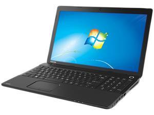 """TOSHIBA Satellite C55-A5388 (PSCF6U-09N06C) Intel Core i3-3110M 2.4GHz 15.6"""" Windows 7 Professional Notebook"""