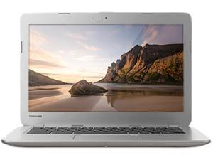 "Toshiba CB30-A3120 13.3"" Chromebook with Intel Celeron 2955U Dual Core 1.4Ghz CPU, 2GB DDR3L RAM, 16GB SSD + 100GB Google Drive (Cloud Storage), Bluetooth 4.0, HDMI Out, Google Chrome OS"