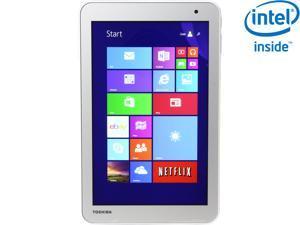 "TOSHIBA Encore 2 Tablet Intel Atom Z3735G 1GB Memory 32GB 8.0"" HD Touchscreen Tablet- Windows 8.1 (WT8-B32CN) - Gold"