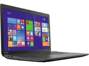 "TOSHIBA Laptop C75D-B7215 AMD A8-Series A8-6410 (2.00 GHz) 8 GB Memory 1 TB HDD AMD Radeon R5 Series 17.3"" Windows 8.1"