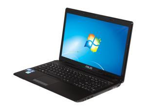 "ASUS K53E-BBR14 Intel Core i5-2450M 2.5GHz 15.6"" Windows 7 Home Premium 64-Bit Notebook"