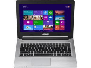 "ASUS S46CA Intel Core i5 4GB DDR3 500GB HDD+24GB SSD 14"" Ultrabook Win7 Pro - Black (S46CA-XH51)"