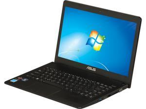 "ASUS X401U-EBL4 AMD Dual Core E1-1200 1.4GHz 14.0"" Windows 7 Home Premium 64-Bit Notebook"