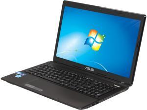 "ASUS K53E-BBR19 Intel Core i5-2450M 2.5GHz 15.6"" Windows 7 Home Premium 64-Bit Notebook"