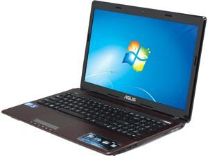 "ASUS X53E-RS52 Intel Core i5-2450M 2.5GHz 15.6"" Windows 7 Home Premium 64-Bit Notebook"