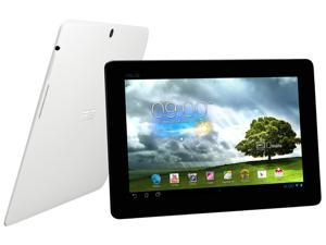 "ASUS MeMO Pad ME301T-A1-WH NVIDIA Tegra 3 1.20GHz 10.1"" 1GB DDR3 Memory 16GB Flash Android 4.1 (Jelly Bean) Tablet PC White"