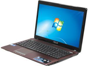 "ASUS X53E-RS51 Intel Core i5-2450M 2.5GHz 3MB 15.6"" Windows 7 Home Premium Notebook"
