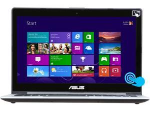 "ASUS VivoBook Intel Core i5 6GB 500GB HDD 24GB SSD 14"" Touchscreen Ultrabook Black (S400CA-DB51T)"