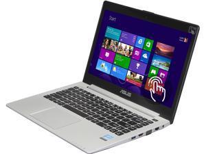 "ASUS VivoBook V400CA-DB31T Notebook Intel Core i3 2365M (1.40GHz) 4GB Memory 500GB HDD Intel HD Graphics 3000 14.0"" Touchscreen Windows 8 64-Bit"