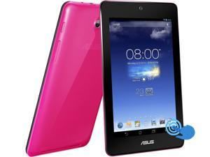 "ASUS MeMO Pad HD7 Tablet 1.20GHz Quad-Core 1GB DDR3 RAM 16GB PowerVR SGX544 7"" IPS 1280x800 WiFi Pink Color (ME173X-A1-PK)"