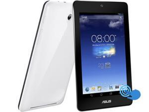 "ASUS MeMO Pad HD7 Tablet 1.20GHz Quad-Core 1GB DDR3 RAM 16GB PowerVR SGX544 7"" IPS 1280x800 WiFi White Color (ME173X-A1-WH)"