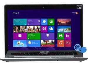 "ASUS VivoBook S400CA-Si30305S Intel Core i3 4 GB Memory 500 GB HDD 24 GB SSD 14"" Touchscreen Ultrabook Windows 8"