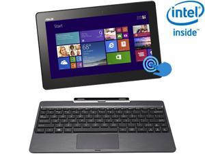 "ASUS Transformer Book T100 Intel Z3740 Quad Core 2GB DDR3 RAM 64GB SSD 10.1"" Touchscreen Tablet w/Dock, Windows 8.1 (T100TA-C1-GR)"