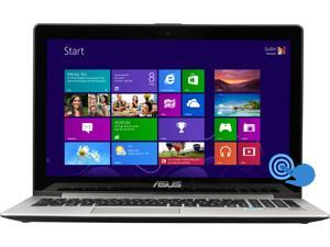 "ASUS VivoBook S500CA-SI50305T Intel Core i5 6 GB Memory 500 GB HDD 24 GB SSD 15.6"" Touchscreen Ultrabook Windows 8"