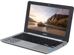 "ASUS C200MA-DS01 Chromebook Intel Celeron N2830 (2.16 GHz) 2 GB DDR3 Memory 16 GB eMMC SSD 11.6"" Chrome OS"