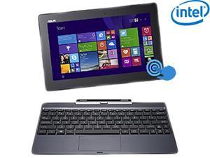 "ASUS Transformer Book T100 Intel Z3775 Quad Core 2GB DDR3 RAM 64GB SSD 10.1"" Touchscreen 2in1 Tablet w/Dock, Windows 8.1- ..."