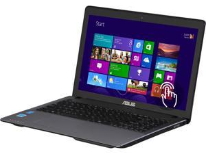 "ASUS X Series X550CA 15.6"" Touchscreen Notebook with Intel Pentium ULV 2117U 1.8GHz, 4GB DDR3 RAM, 500GB HDD, Super-Multi DVD, HD Webcam, USB 3.0, HDMI Out, SonicMaster Audio, Windows 8"