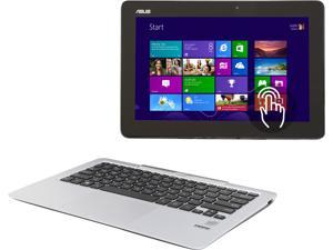 "ASUS Transformer Book T200TA-C1-BL 2-in-1 Ultrabook Intel Atom Z3795 (1.60GHz) 4GB Memory 64GB SSD 11.6"" Touchscreen  Windows 8.1 64-Bit"