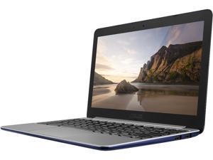 "ASUS C201PA-DS01 Chromebook Rockchip 3288-C Quad-Core 1.80 GHz 2 GB Memory 16 GB eMMC 11.6"" Chrome OS"