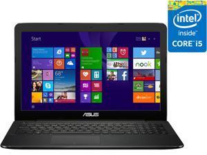 """ASUS Laptop F554LA-WS52 Intel Core i5 5200U (2.20 GHz) 8 GB Memory 500 GB HDD Intel HD Graphics 5500 15.6"""" Windows 8.1 64-Bit"""
