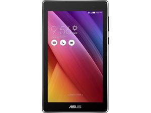 "ASUS ZenPad Z170C-A1-BK Tablet Intel Atom x3-C3200 1.2 GHz 1 GB Memory 16 GB eMMC 7.0"" IPS 1024 x 600 Touchscreen  0.3 MP Front / 2 MP Rear Camera Android 5.0 (Lollipop)"