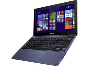 "Asus EeeBook X205TA-DH01 11.6"" Netbook - Intel Atom Z3735F Quad-core (4 Core) 1.33 GHz 2GB Memory 32GB Flash Windows 8.1- Blue"