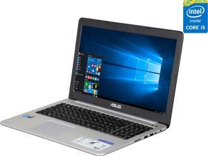ASUS K501LX-NH52 Gaming Laptop 5th Generation Intel Core i5 5200U (2.20 GHz) 8 GB Memory 1 TB HDD 128 ...