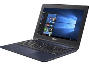"ASUS TP200SA-DH04T Intel Celeron N3050 (1.60 GHz) 4 GB Memory 64 GB SSD Intel HD Graphics Shared memory 11.6"" 1366 x 768 Convertible Touchscreen Ultrabook Windows 10 Home 64-Bit"